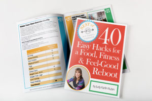 Cover and inside for 40 Easy Hacks