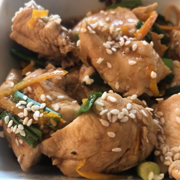 One-Point Asian Orange Chicken