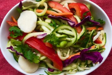 One-Point Asian Zoodle Salad