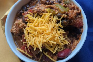 Zero-Point Pumpkin Turkey Chili