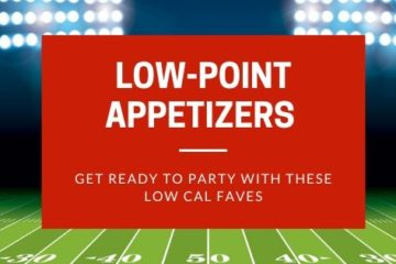 super bowl low-point appetizers