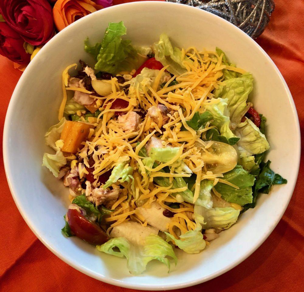 Zero-Point Barbecue Ranch Chicken Salad