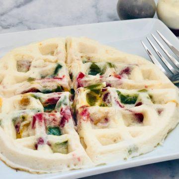 zero-point waffle omelette
