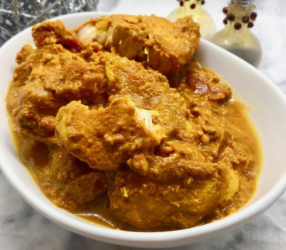 One-Point Pumpkin Chicken Curry