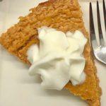 One-Point Crustless Pumpkin Pie