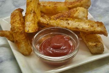 Zero-Point Jicama Fries