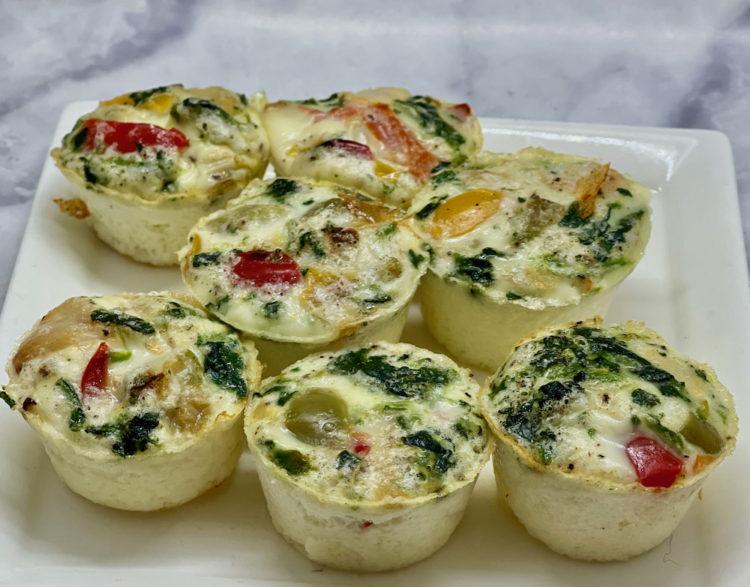 One-Point Greek Egg Bites